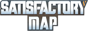 Satisfactory map logo